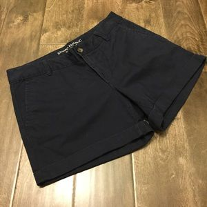 Banana Republic Black City Chino Shorts